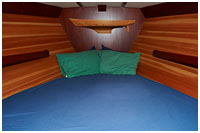 Bow Cabin (sleeps 2) of the Ocean Light II